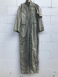 VTG Coveralls Flyers Mens Summer Size 42L GREEN MILITARY $24.99