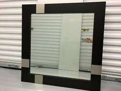 Large Square Contemporary wall mirror $85.00
