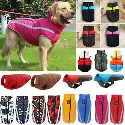 Pet Vest Jacket Warmer Pet Dogs Clothes Small Large Winter Padded Coat Outwear $10.06