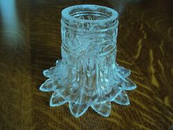 Antique Vintage Clear Glass Ceiling Shade Light Fixture Cover Globe $15.00