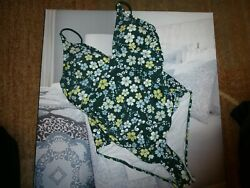 Cupshe one pc swimsuit flowers padded cute XL $21.00