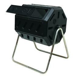 Tumbling Composter FCMP Outdoor w Two Chambers for Efficient Batch Composting $102.99