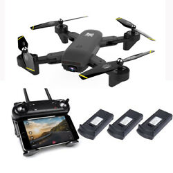 2021 NEW Rc Drone 4k HD Wide Angle Camera WiFi fpv Drone Dual Camera Quadcopter $64.99
