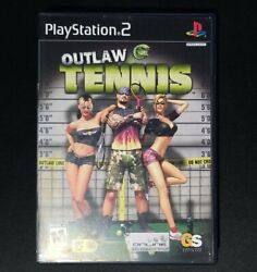 Outlaw Tennis for Ps2 in VG Cond Complete With Manual CIB with manual $6.99