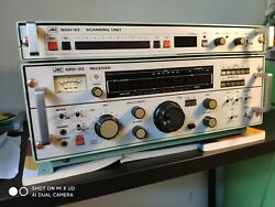 JRC NRD 93 HF receiver with NDH 93 scanning unit and Manuals $1900.00