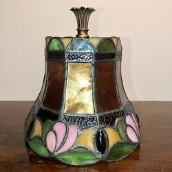 """Dale Tiffany Stained Glass Lamp Shade H 7 1 2"""" x W 7 5 8"""" $49.99"""