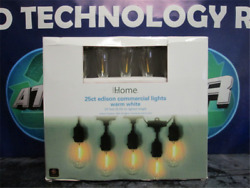 IHOME 25CT EDISON COMMERCIAL LIGHTS WARM WHITE