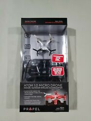 Propel RC Atom 1.0 Micro Drone Indoor Outdoor Wireless Quadrocopter silver NEW $18.99