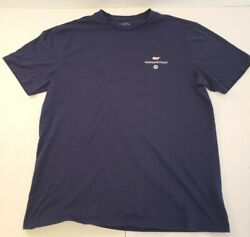 Vineyard Vines For Target Mens M T Shirt Every Day Should Feel This Good Blue $9.71