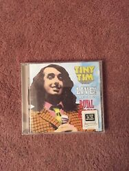 TINY TIM LIVE AT THE ROYAL ALBERT HALL Rhino Handmade Rare Out Of Print Great $79.99