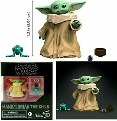 Star Wars Black Series Mandalorian The Child Baby Yoda Grogu 1.1 Inch Figure $17.99
