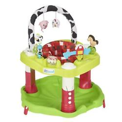Evenflo Exersaucer Bounce and Learn Playful Pastures baby activity center $79.54