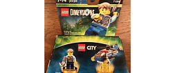 Lego Dimensions Fun Pack Lego City Chase Mccain Police Helicopter Toy Set NIB $50.50