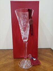 WATERFORD TWELVE 12 DAYS OF CHRISTMAS FLUTE SEVEN 7 SWANS A SWIMMING $125.00