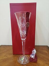 WATERFORD TWELVE 12 DAYS OF CHRISTMAS FLUTE SIX 6 GEESE A LAYING $125.00