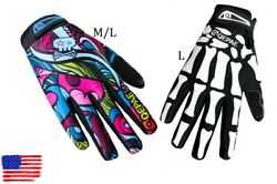 QEPAE Mountain Road XC Cycling Bike Practical Gloves Full Finger Glove M L $13.99