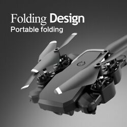 Speed Adjustment Foldable Drone With Camera QuadcopterPhone Simulation Control $49.99