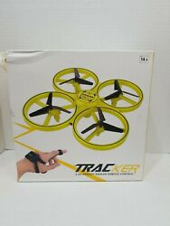 Mini Drone Quad Induction Levitation Hand Operated Helicopter For Kids yellow $24.00
