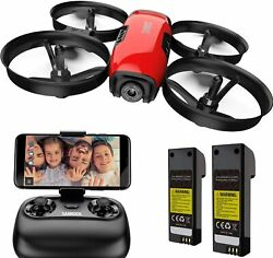 U61W Drones for Kids with Camera Mini RC Quadcopter with 720P HD WiFi FPV Camer $63.13