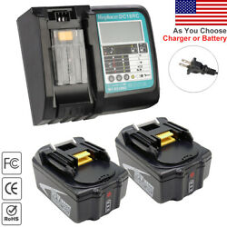 For Makita DC18RC Charger amp; Battery BL1850B 18V 5.0Ah Lithium ion BL1860B BL1850 $30.99