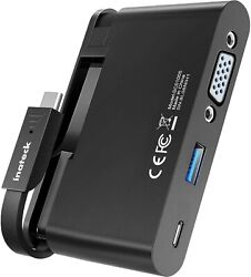 Inateck USB C Hub USB 3.0 Type C to VGA Adapter with 100W Power Delivery Port $9.99