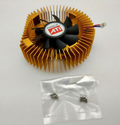 ATI Replacement Cooler Fan for VT 4850 PCIe 512MB D D T Dual DVI PC Graphic Card $16.00