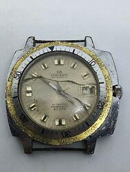 CONCERTA AUTO 21 JEWELS WATERPROOF 20 ATM SWISS VINTAGE FOR SPARE PARTS USE $32.00