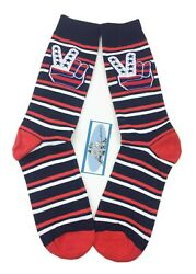 Set of 2 Pairs Men Novelty Fun Cotton Crew Socks  $14.99