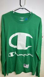 New Rare Sample Supreme Champion L S Long Sleeve Tee Size Large 100% Authentic $50.00