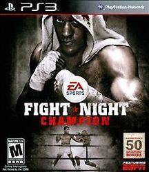 Fight Night Champion For PlayStation 3 PS3 Fighting Very Good complete $29.99