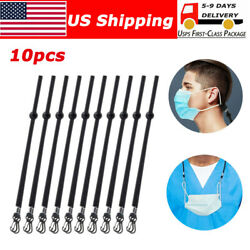 10X Adjustable Flat Lanyard Face Mask Extender Ear Savers Mask Strap Holder $6.64