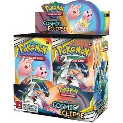 Pokemon TCG Sun amp; Moon Cosmic Eclipse Sealed Booster Box New Trading Card Game $369.99