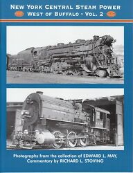 New York Central Steam Power West of Buffalo Vol.2 Railroad Book $20.95