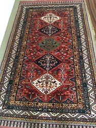REMARKABLE LARGE VINTAGE ORIENTAL CARPET $675.00