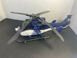 2014 Hasbro Tonka Helicopter S.W.A.T 15quot; Aircraft Expanding Blades Toy $12.00