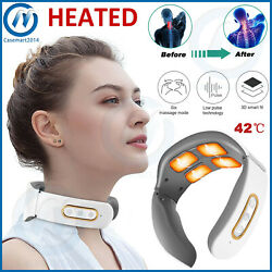 Electric Cervical Neck Massager Heated Relax Body Shoulder Musle Relief Pain $21.95