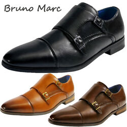 Bruno Marc Mens Dress Shoes Formal Slip on Comfort Oxford Shoes Wedding Shoes $30.59