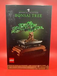 LEGO 10281 Botanical Collection Bonsai Tree Brand New Fast Free Shipping $77.98