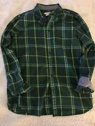 Cat amp; Jack Boys 12 14 Green Nice Collar Shirt EUC $4.90