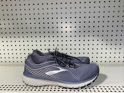 Brooks Ghost 12 Womens Athletic Running Shoes Size 9.5 D WIDE Blue Gray $40.00