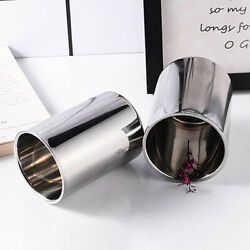 Insulated Stainless Double Wall Non Spill Travel Mug NO Handle Coffee Tea Hot Cu C $16.14