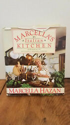 Marcella#x27;s Italian Kitchen Classic Italian Cooking HCDJ $5.00