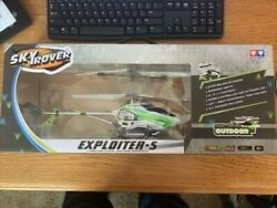 SKY ROVER EXPLOITER 6 Way Control HELICOPTER RC OUTDOOR New $30.00