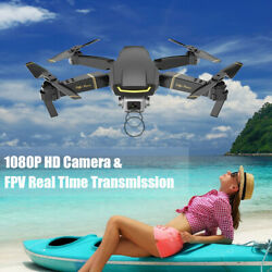 GLOBAL DRONE GW89 RC Drone Camera 1080P Wifi FPV Quadcopter With 2 Battery E9R9 $54.49