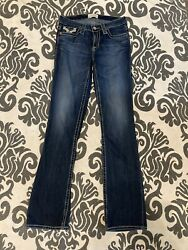 Big Star Womens Jeans Size 27 L Long Medium Wash Remy Bootcut Worn Once $60.00