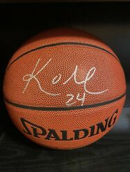 Kobe Bryant Signed Ball Autograph In Person No COA Lakers NBA MVP $500.00