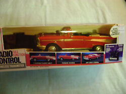 New Bright No.357 1957 CHEVY RC With Complete Joystick Control. New In Box $38.99