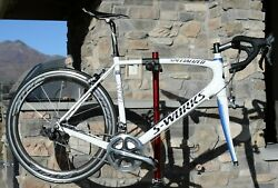 2010 Specialized S Works SL3 Saxo Bank Road Bike 58cm Carbon Dura Ace 7900 NICE $1570.00