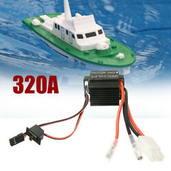 320A Waterproof Brushed ESC Electronic Speed Controller For RC Motor Car Boat BS $12.90