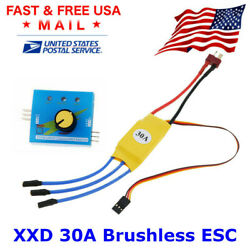 XXD 30A RC Brushless Speed Controller ESC Servo Tester for RC Drone parts $14.95